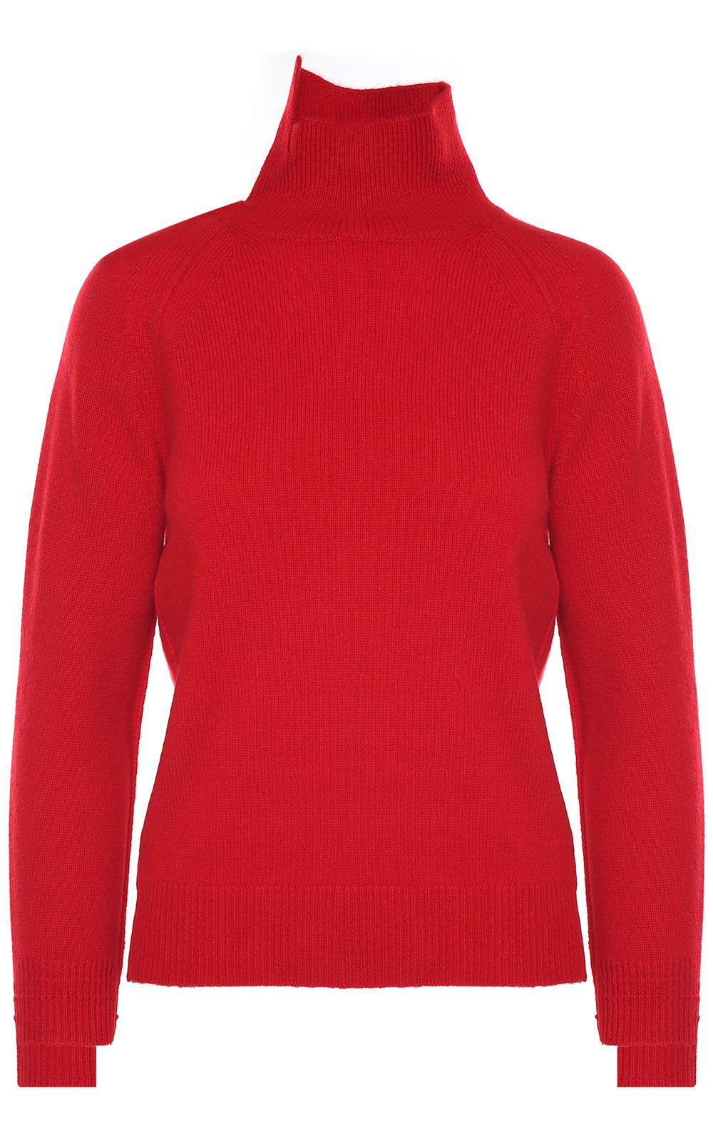 Helmut Lang Turtleneck Rib-knit Cashmere Sweater