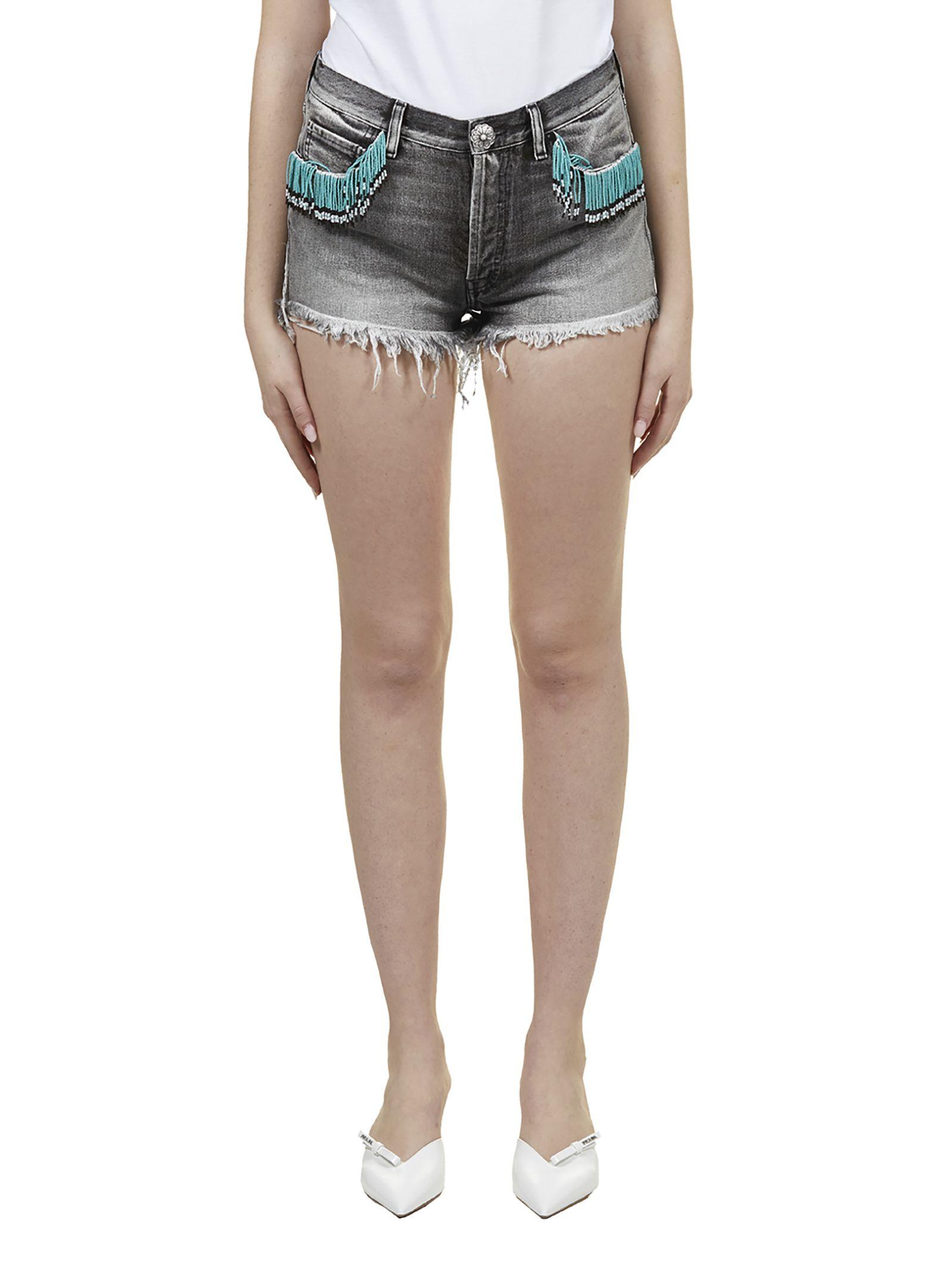 Alanui Fringed Shorts