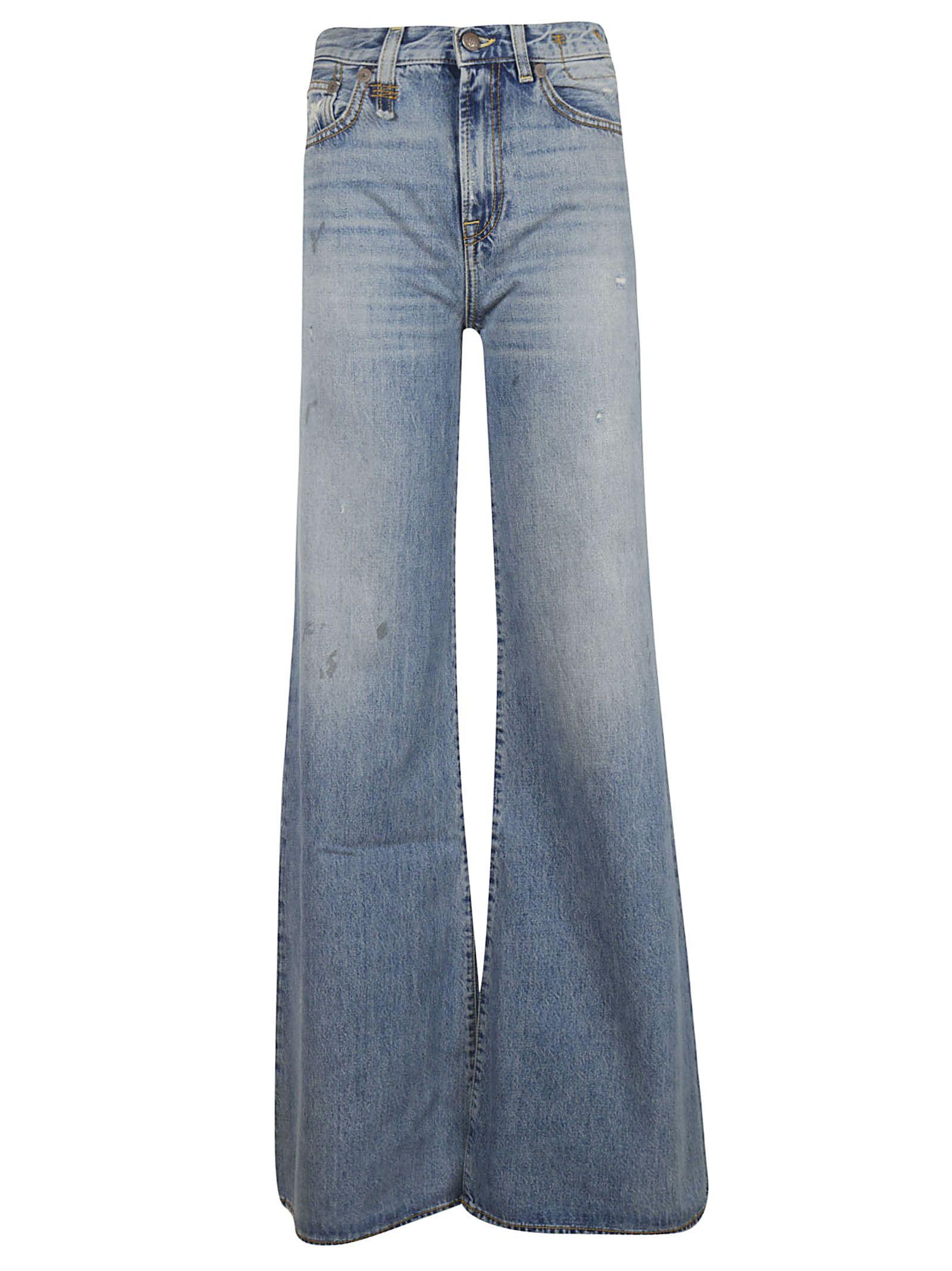 r13 -  Wide Leg Jeans