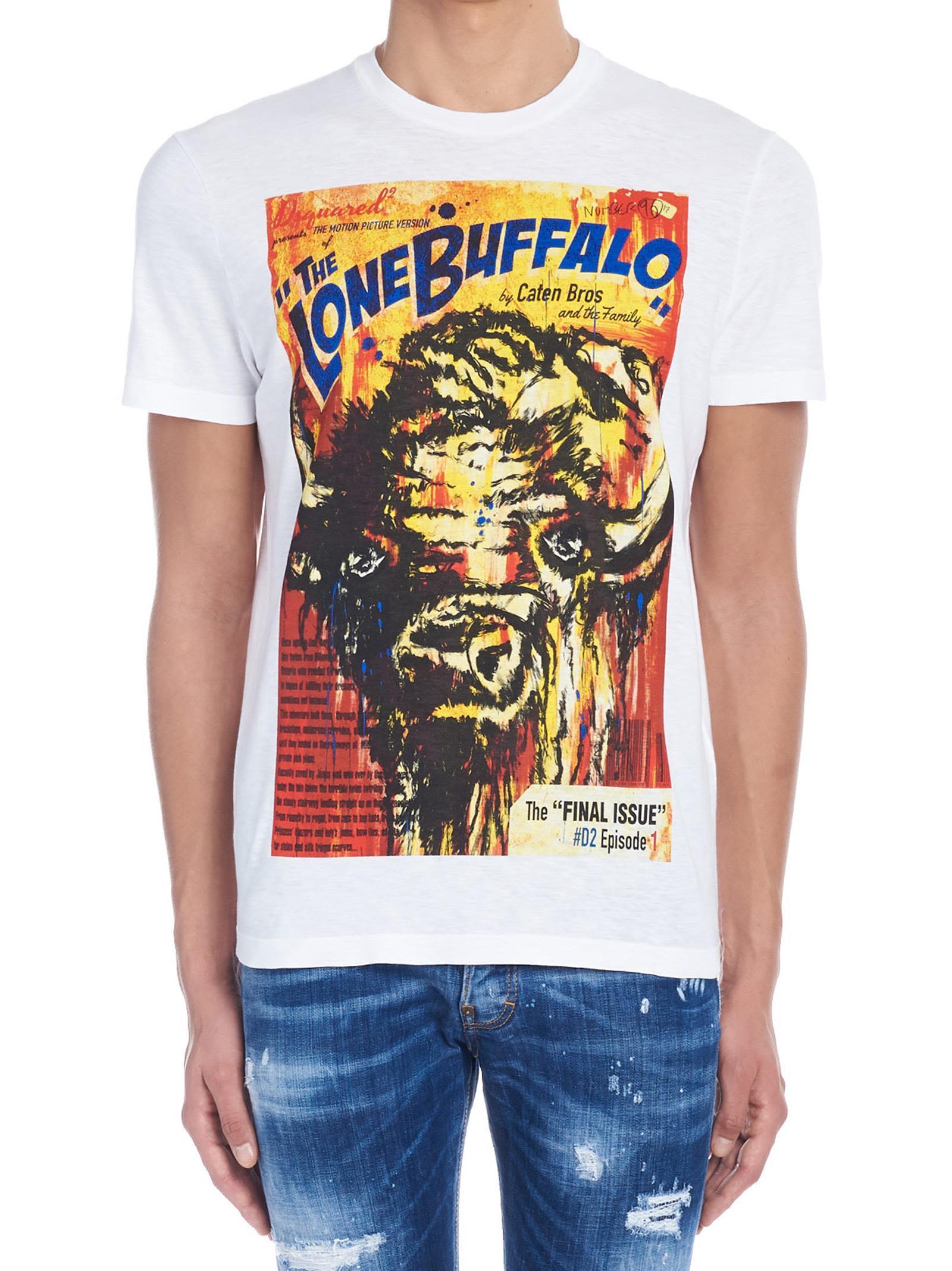 Dsquared2 'lone Buffalo' T-shirt