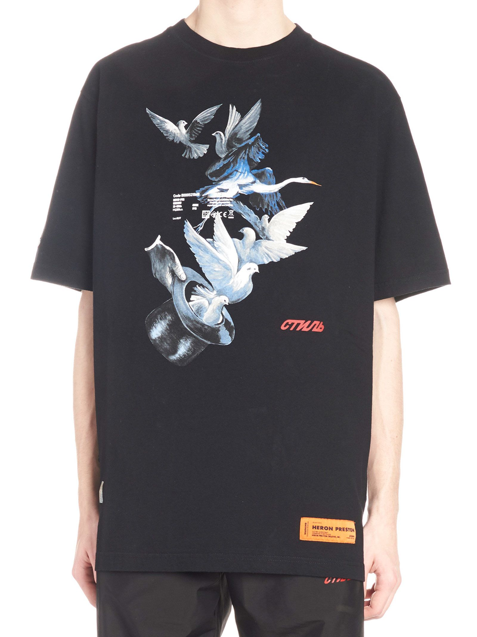 Heron Preston 'heron Doves' T-shirt