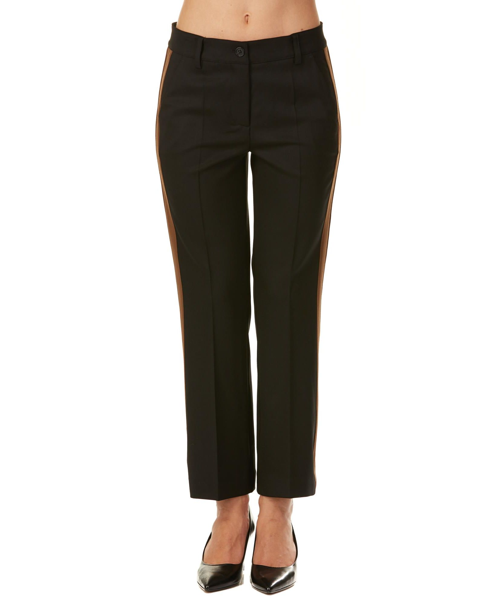 Parosh Virgin Wool Blend Trousers