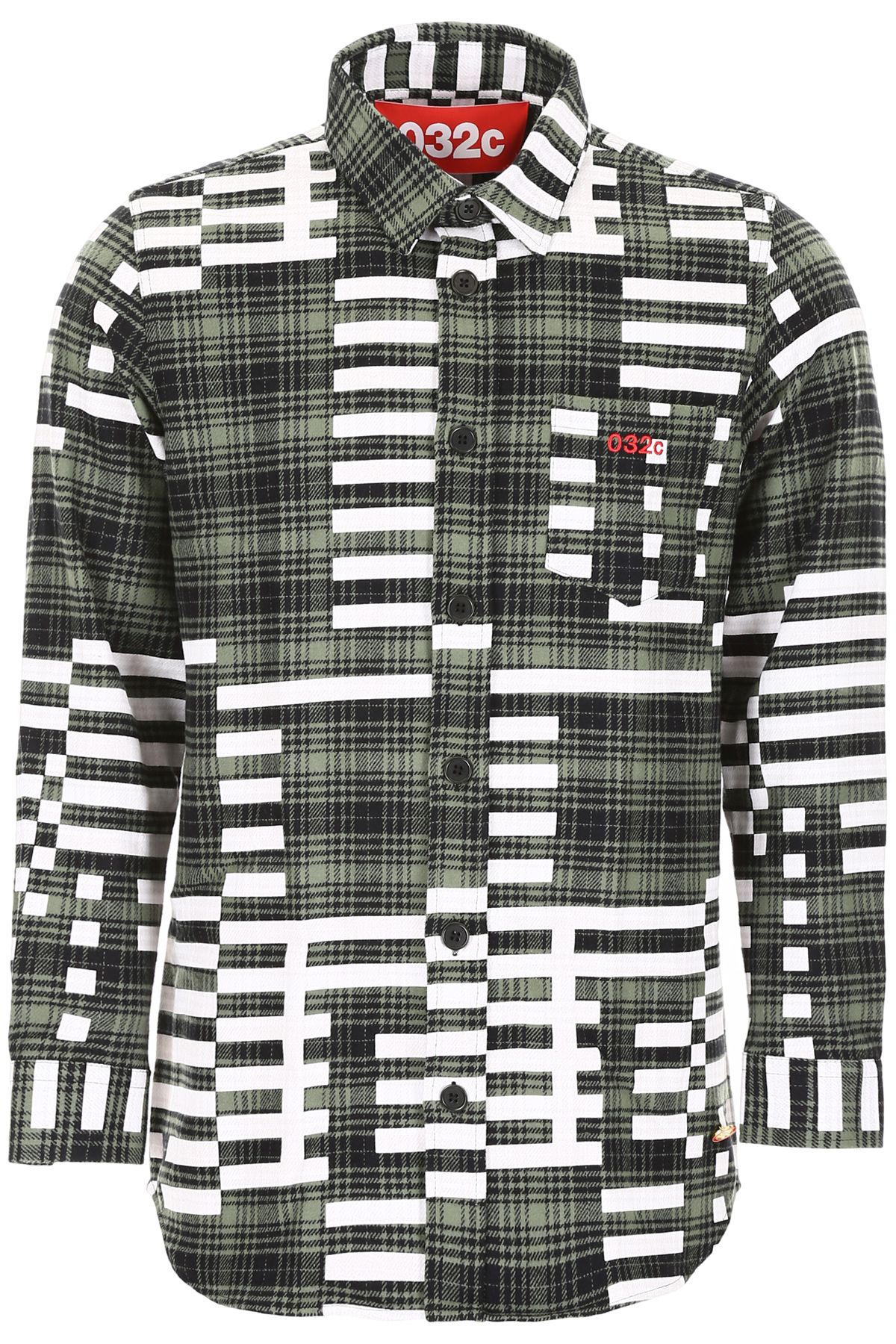032c Check Flannel Shirt