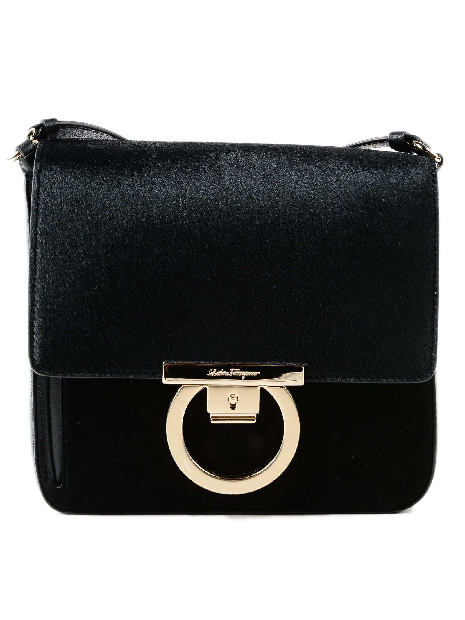 Salvatore Ferragamo Lock Shoulder Bag