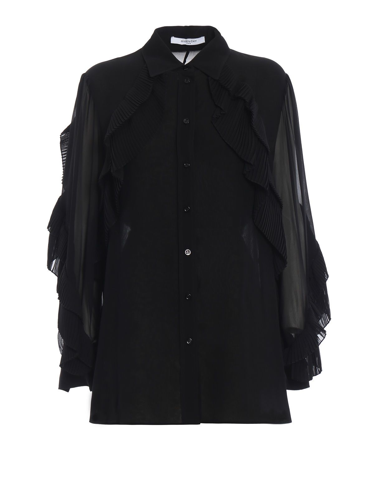 Givenchy Ruffled Blouse
