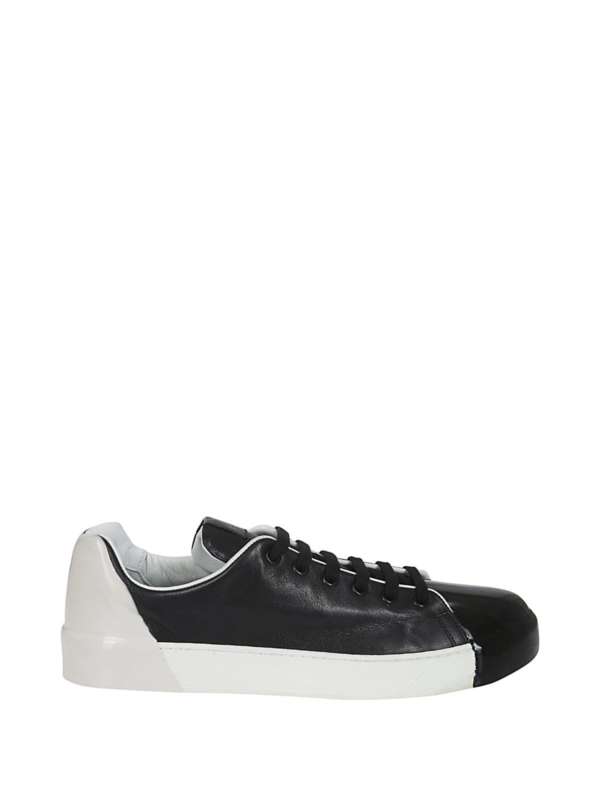 Premiata Contrast Lace-up Sneakers