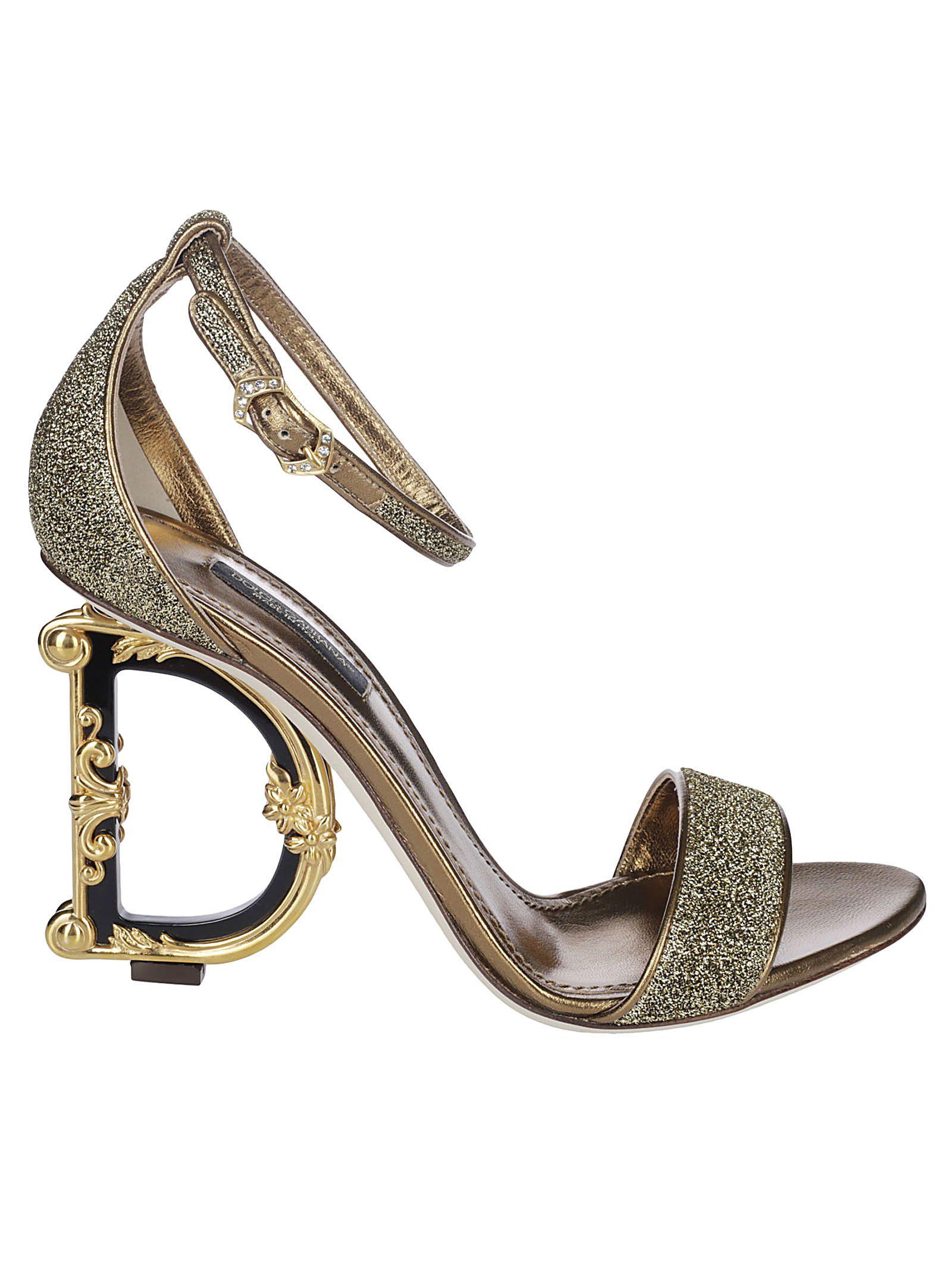 Dolce & Gabbana Glittered Sandals