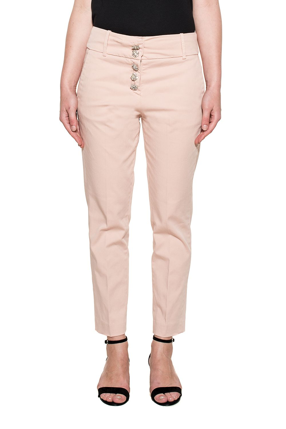 Dondup Pink Fairly Trousers