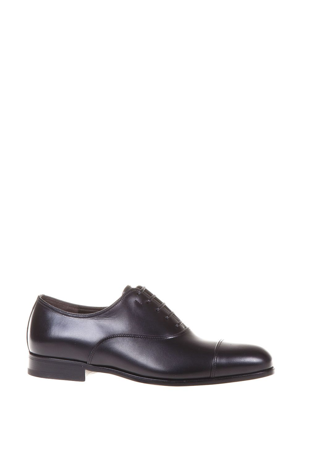 Salvatore Ferragamo Smooth Letaher Lace-up Shoes