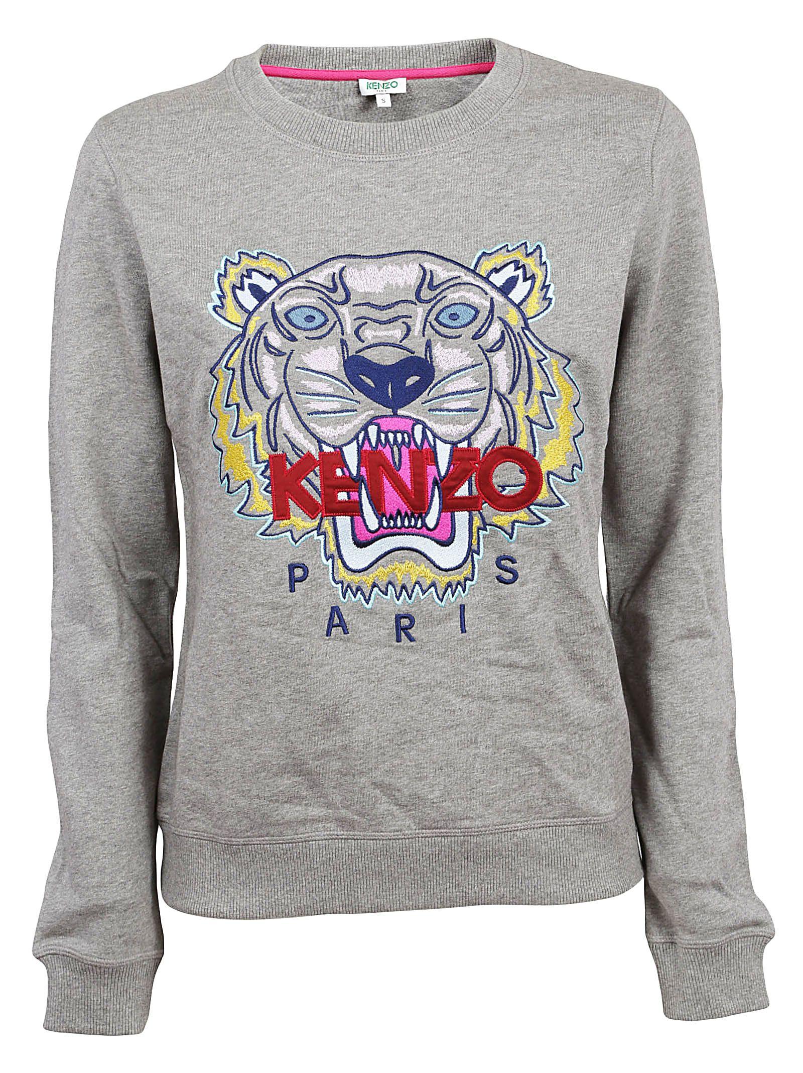 Kenzo Logo Print Jumper