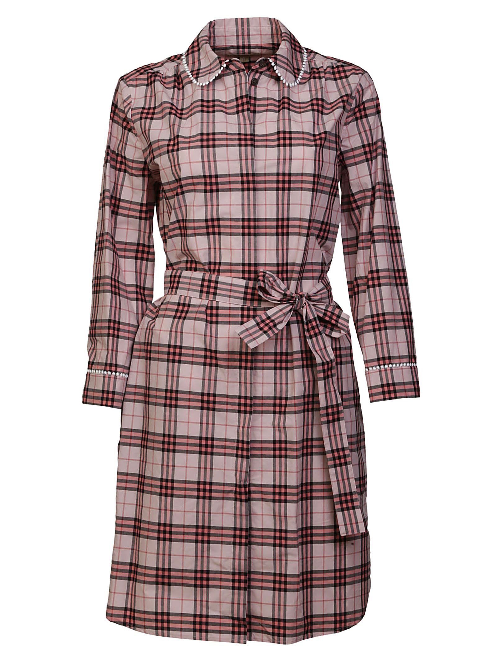 burberry -  Agna Check Dress