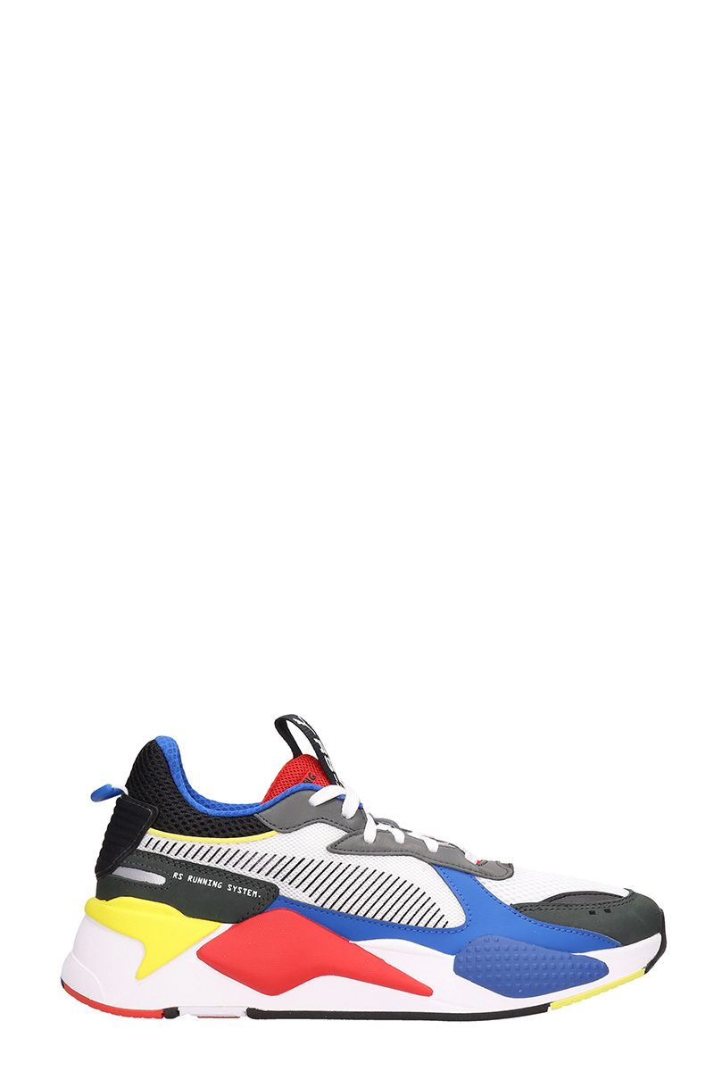 a308bf9d0 Puma Rs-X Sneakers In Multicolor Fabric In White