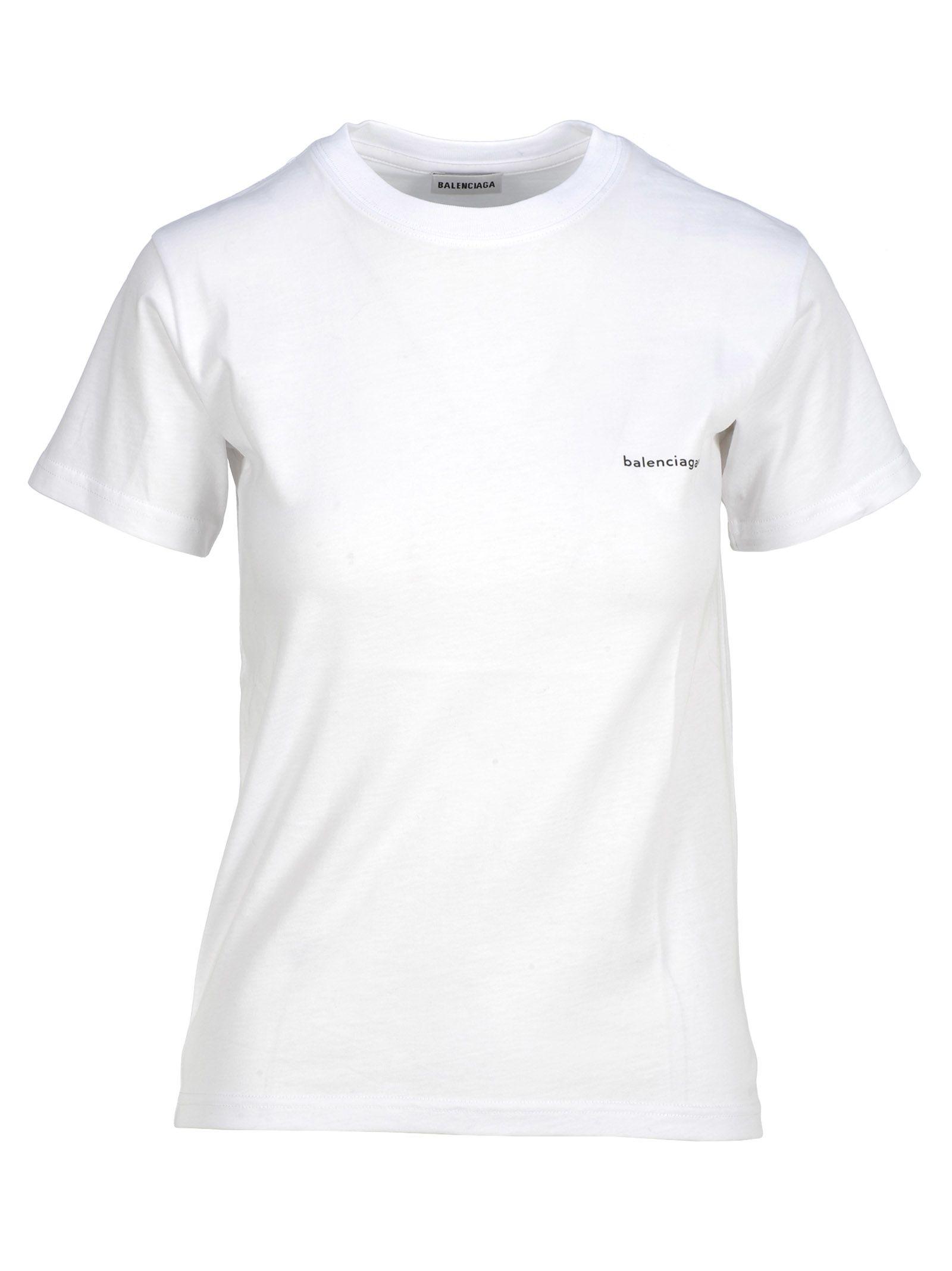Balenciaga Tshirt Logo Small