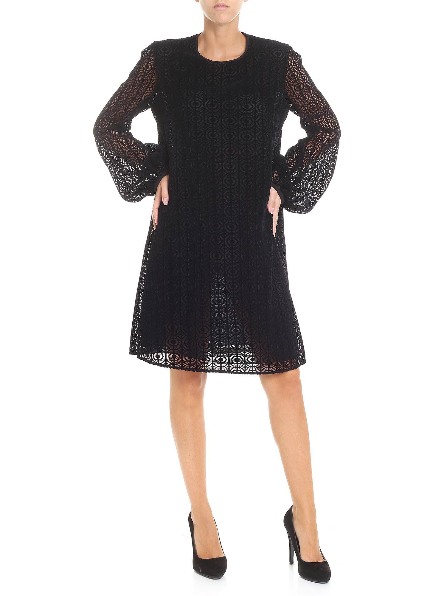 Giamba Lace Detailed Dress