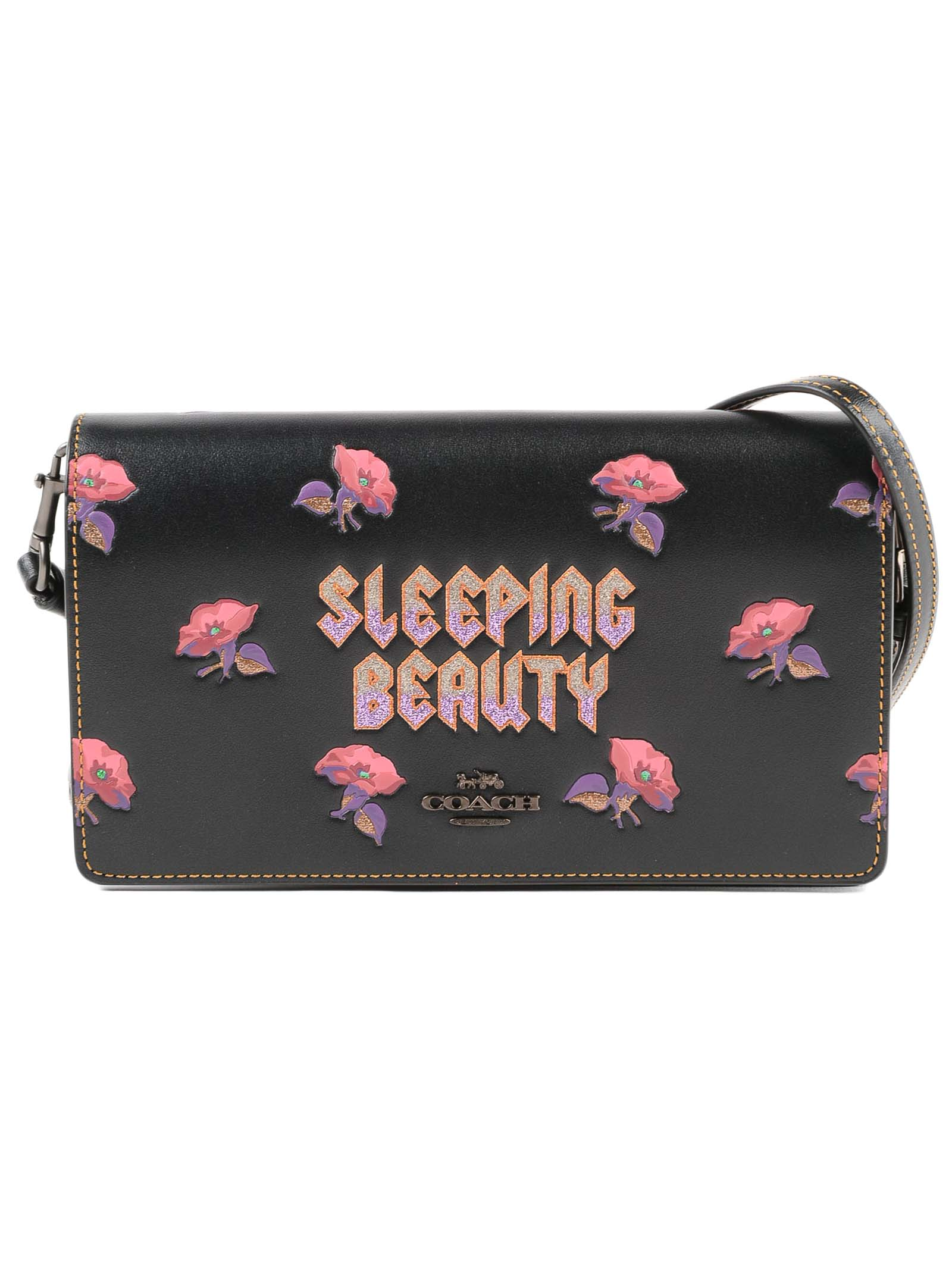 Sleeping Beauty Foldover Xbody Clutch