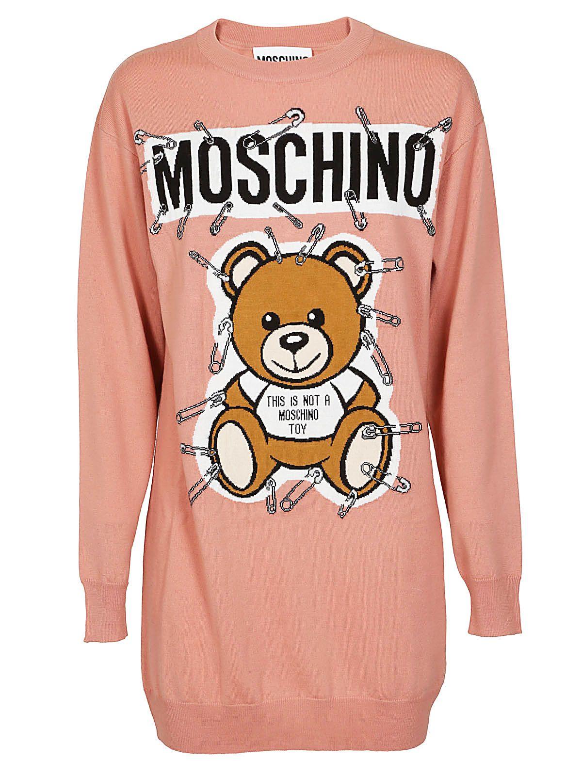 Moschino Bear Print Jumper