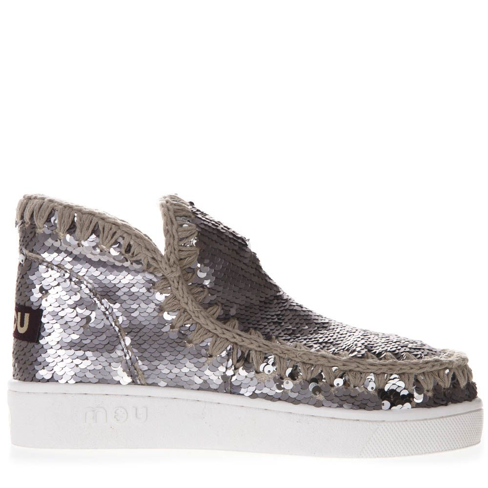 mou -  Eskimo Low-cut Sequined Sneakers