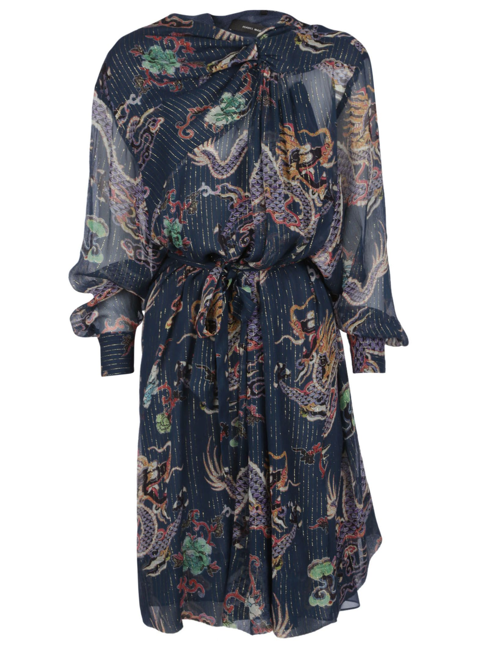 Isabel Marant Danzig Printed Dress