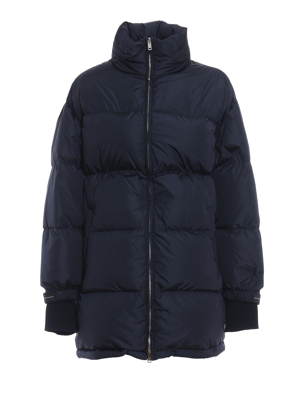 Prada Oversized Zipped Padded Jacket