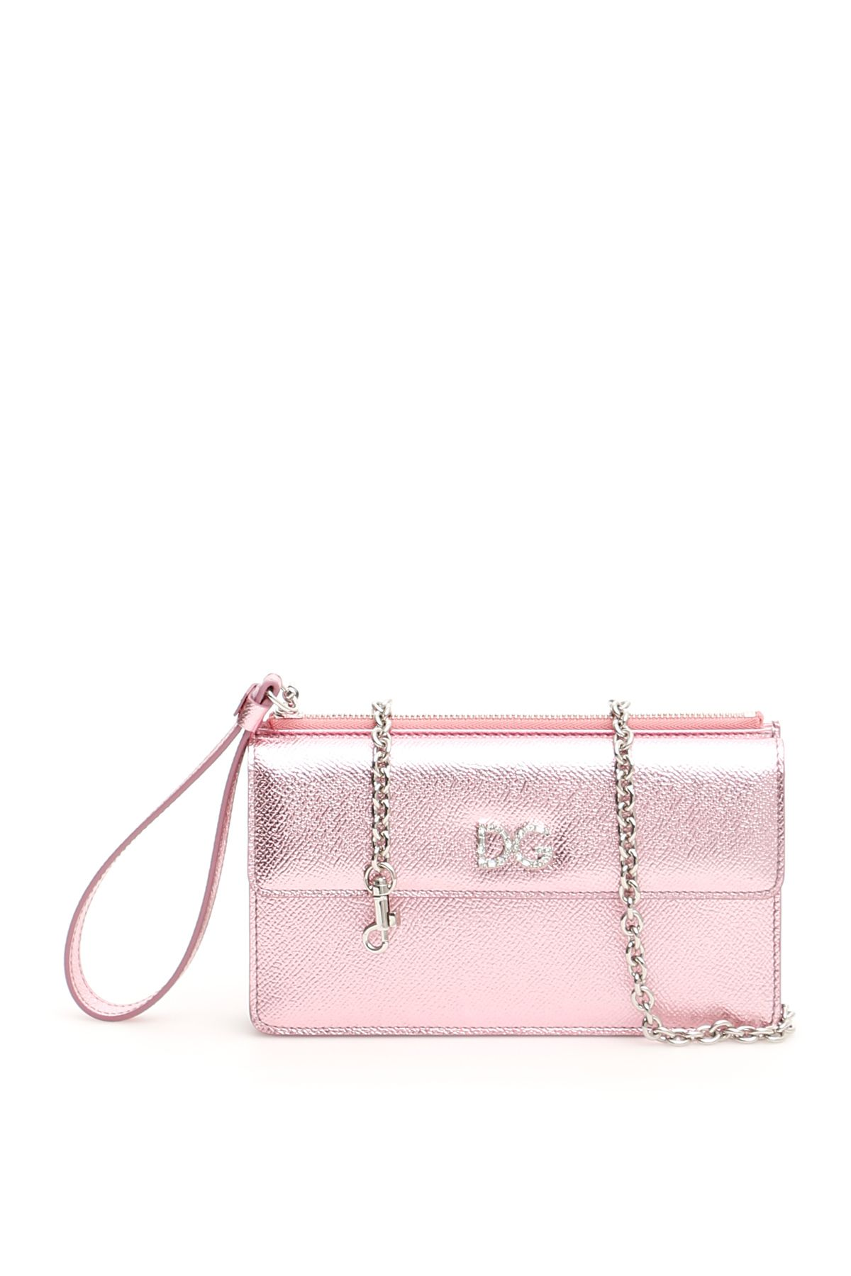 Dolce & Gabbana Phone Bag With Crystal Dg