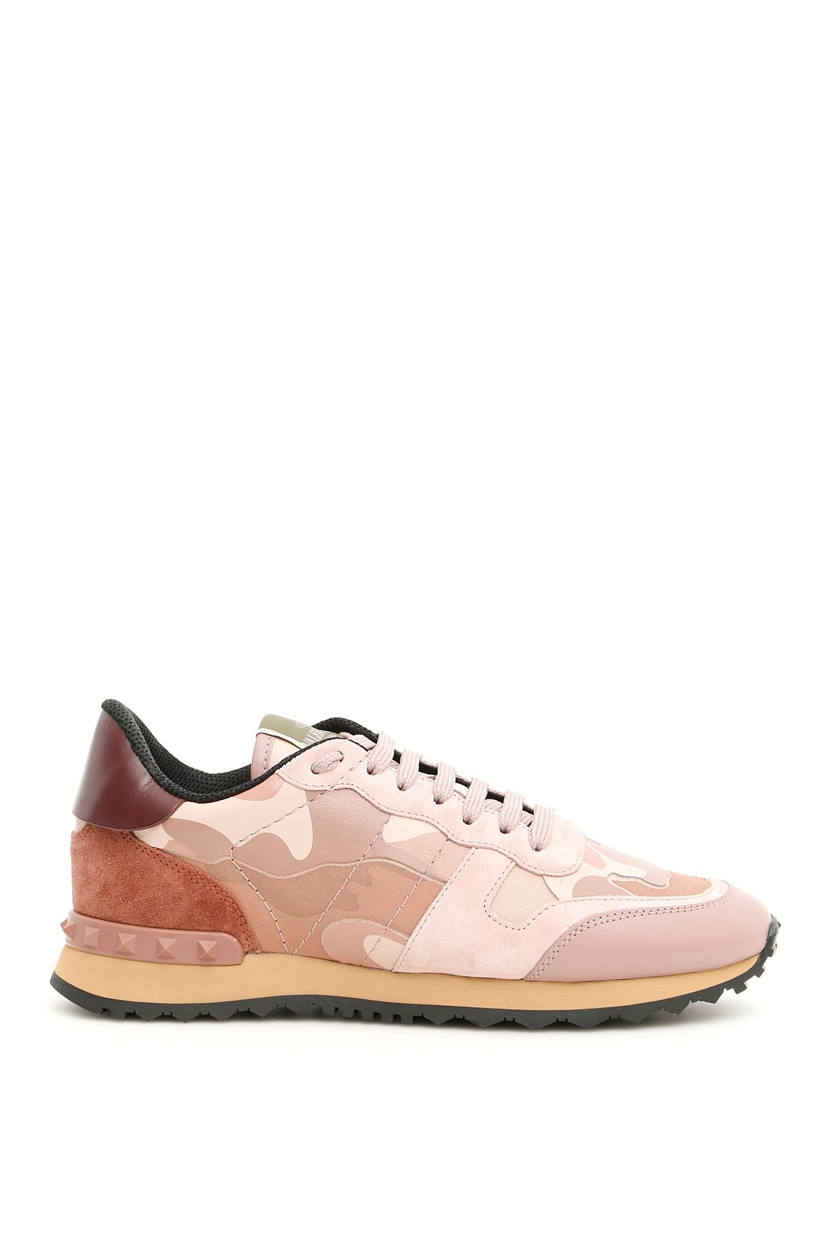 Camouflage Sneakers in Poudre Multi