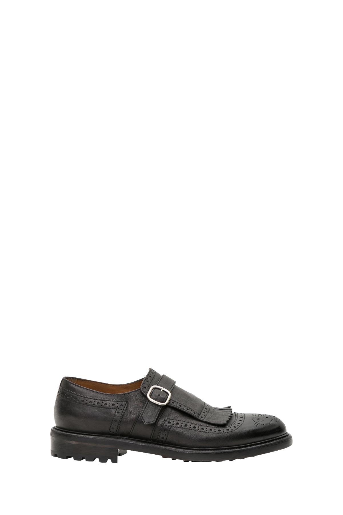 Doucal's Monk Strap Derby Shoes