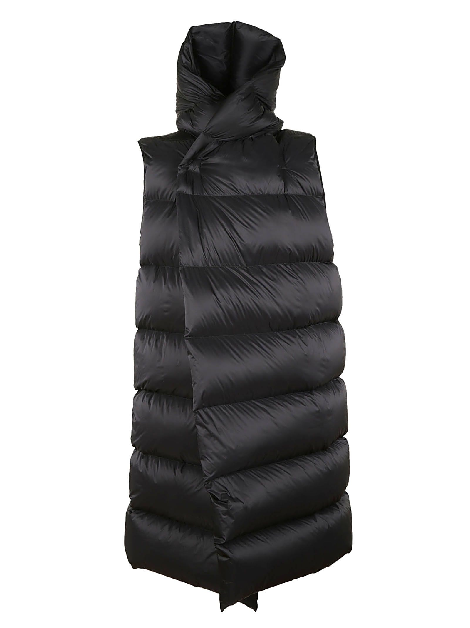 Rick Owens Sleeveless Padded Jacket