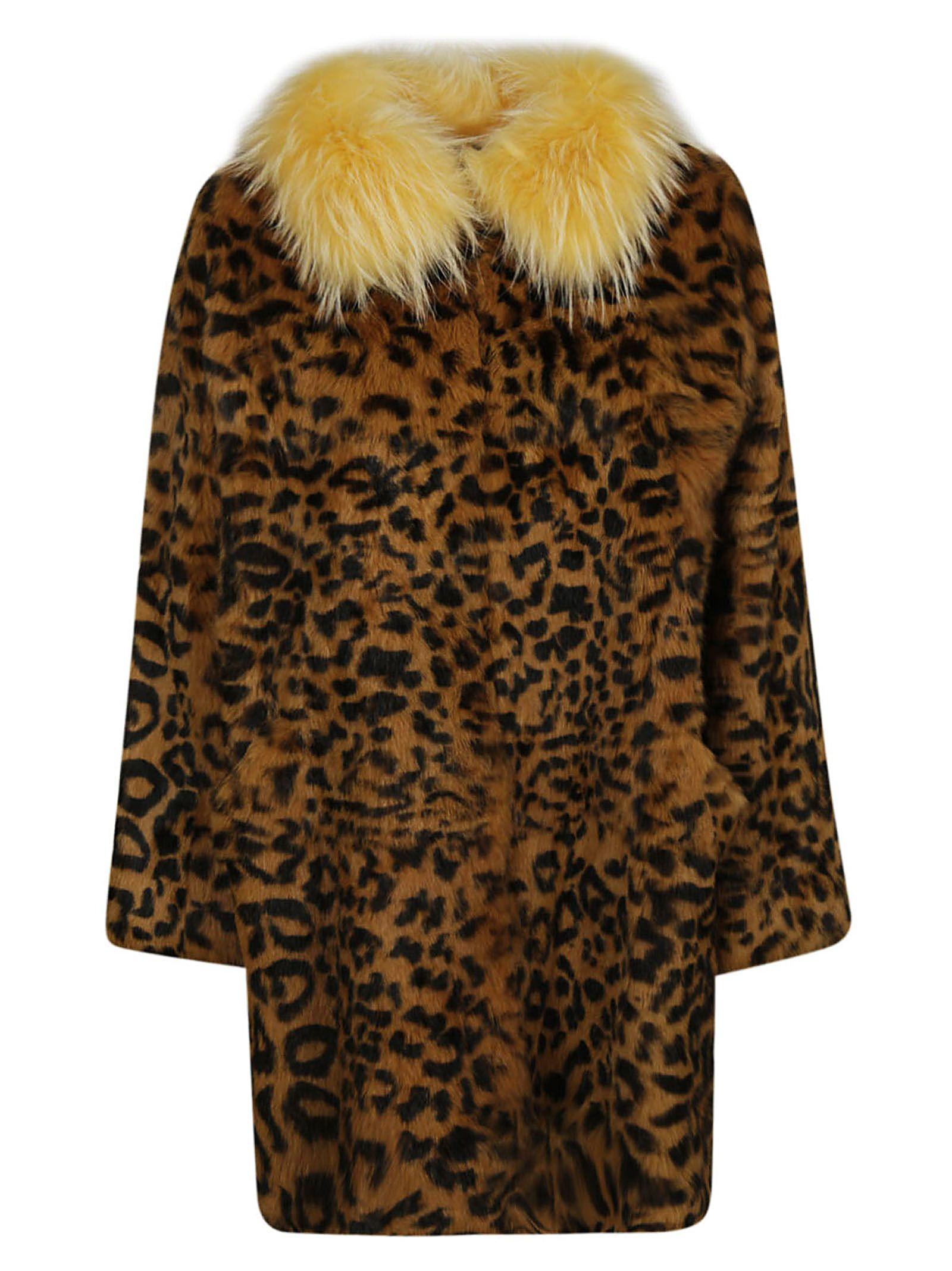 alessandra chamonix -  Charlotte Leopard Coat