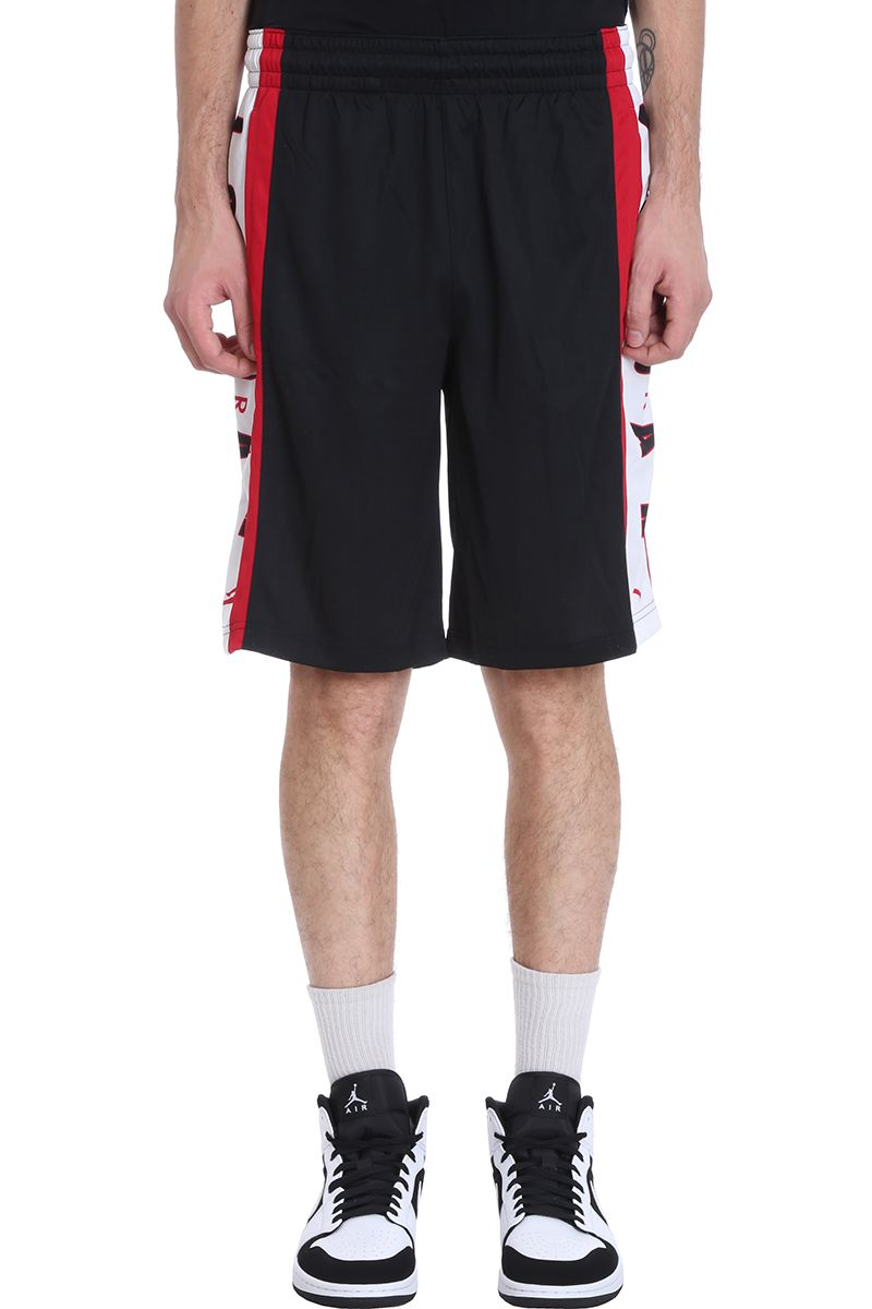 Nike Black Cotton Shorts