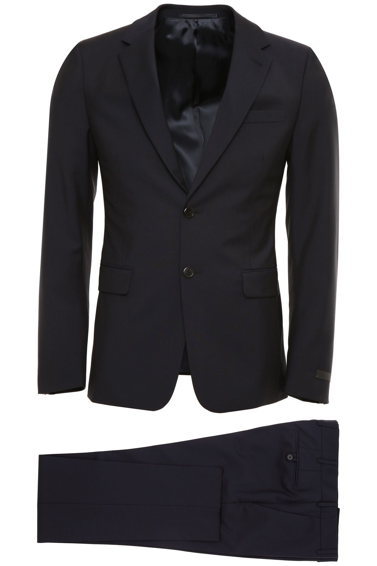 Prada Mohair Canvas Suit