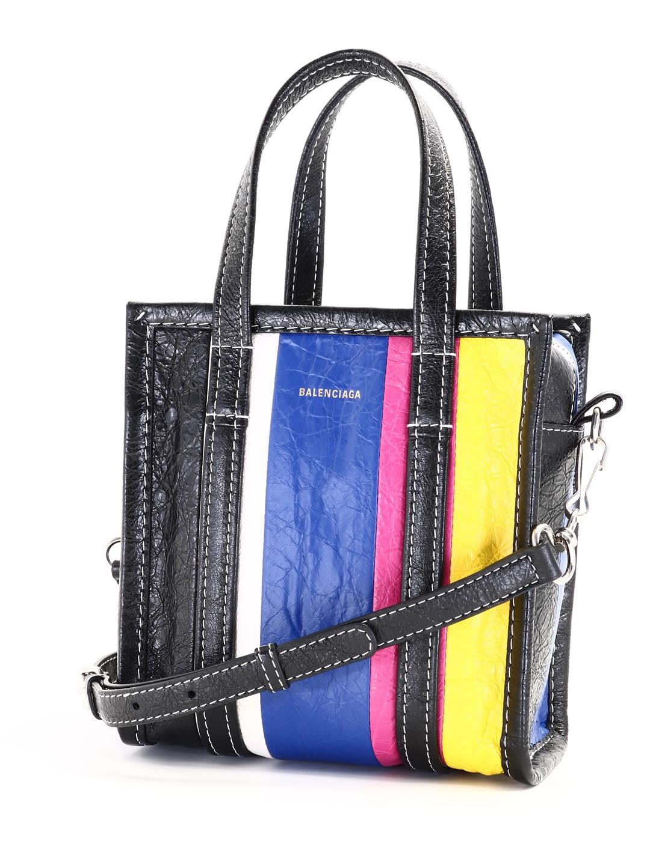 Balenciaga Bazar Bag Xxs Multicolor