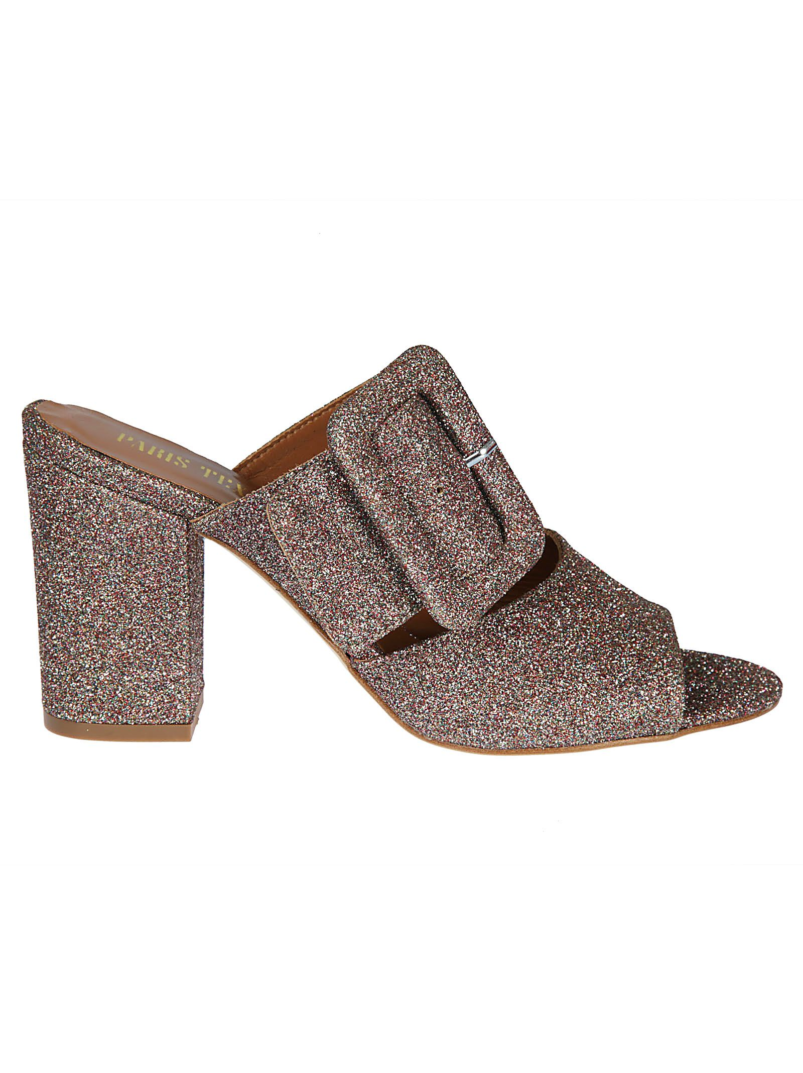 Paris Texas Glittered Mules