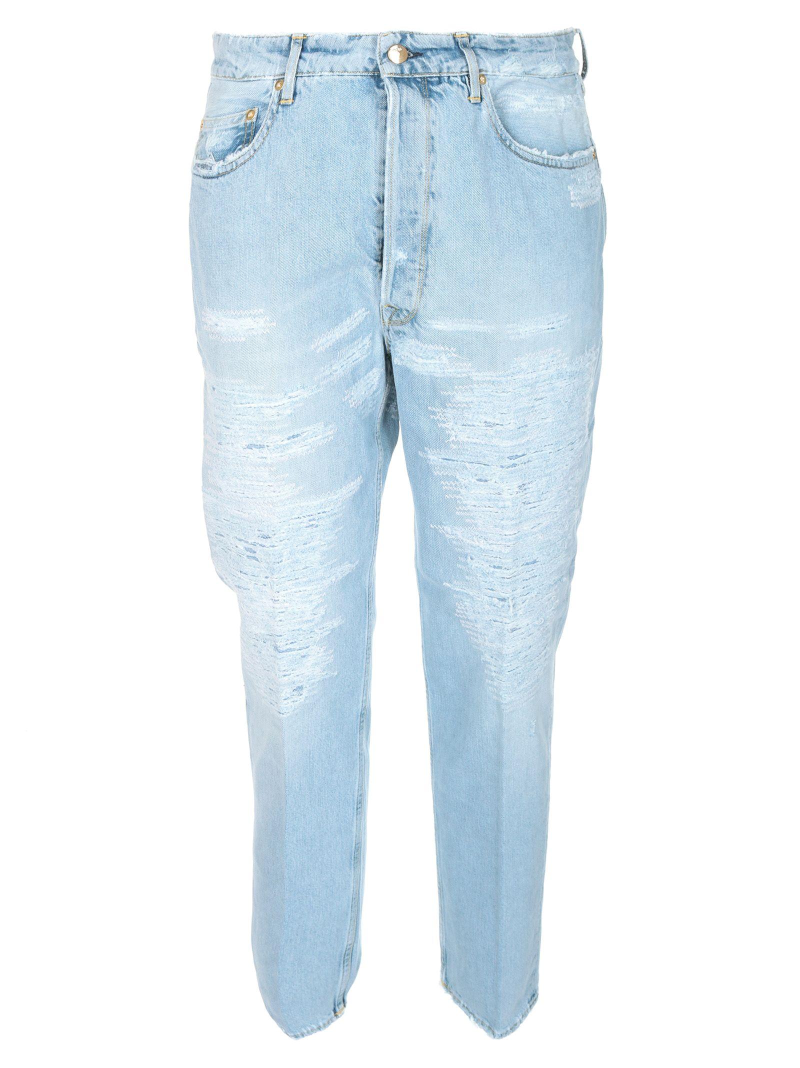Golden Goose Happy Distressed Jeans