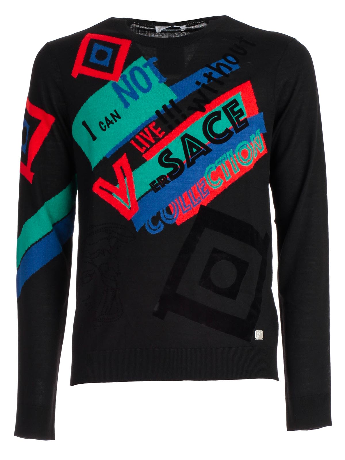 Versace Collection Printed Sweater