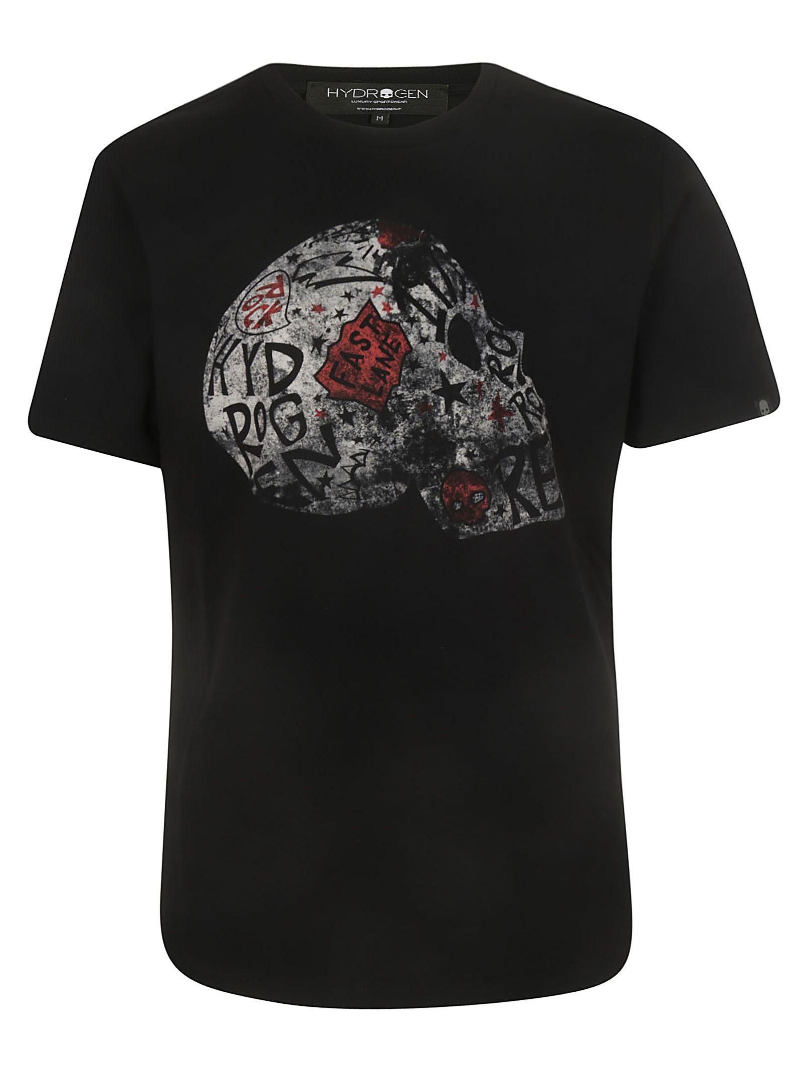 Hydrogen Vintage Skull T-shirt
