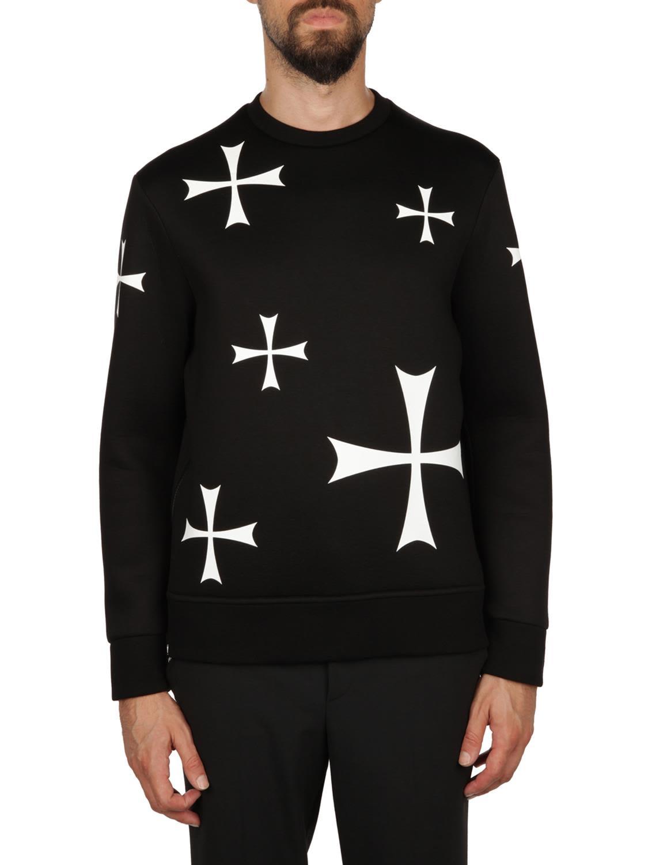 Neil Barrett Viscose Sweatshirt
