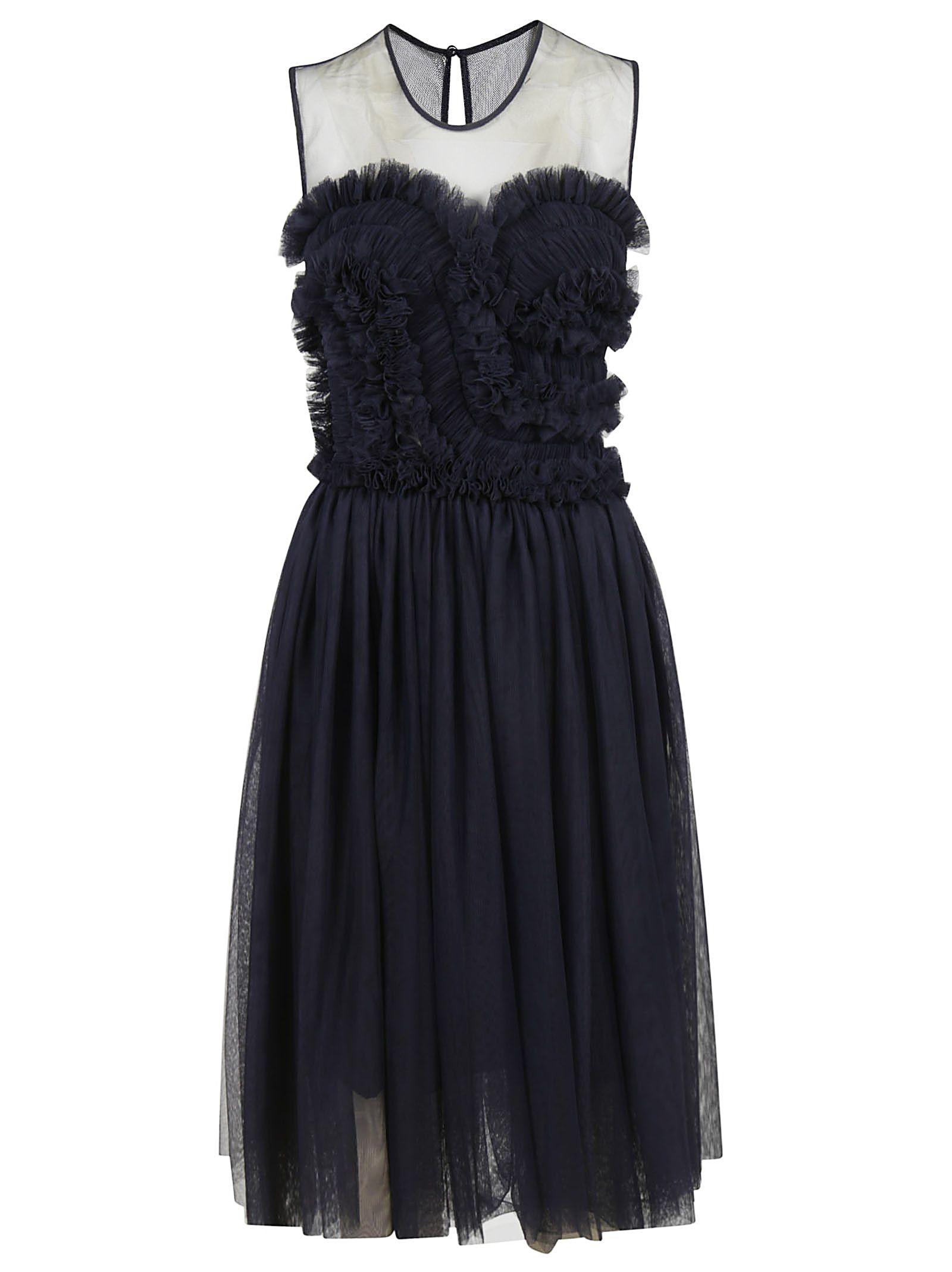 Parosh Ruffled Dress
