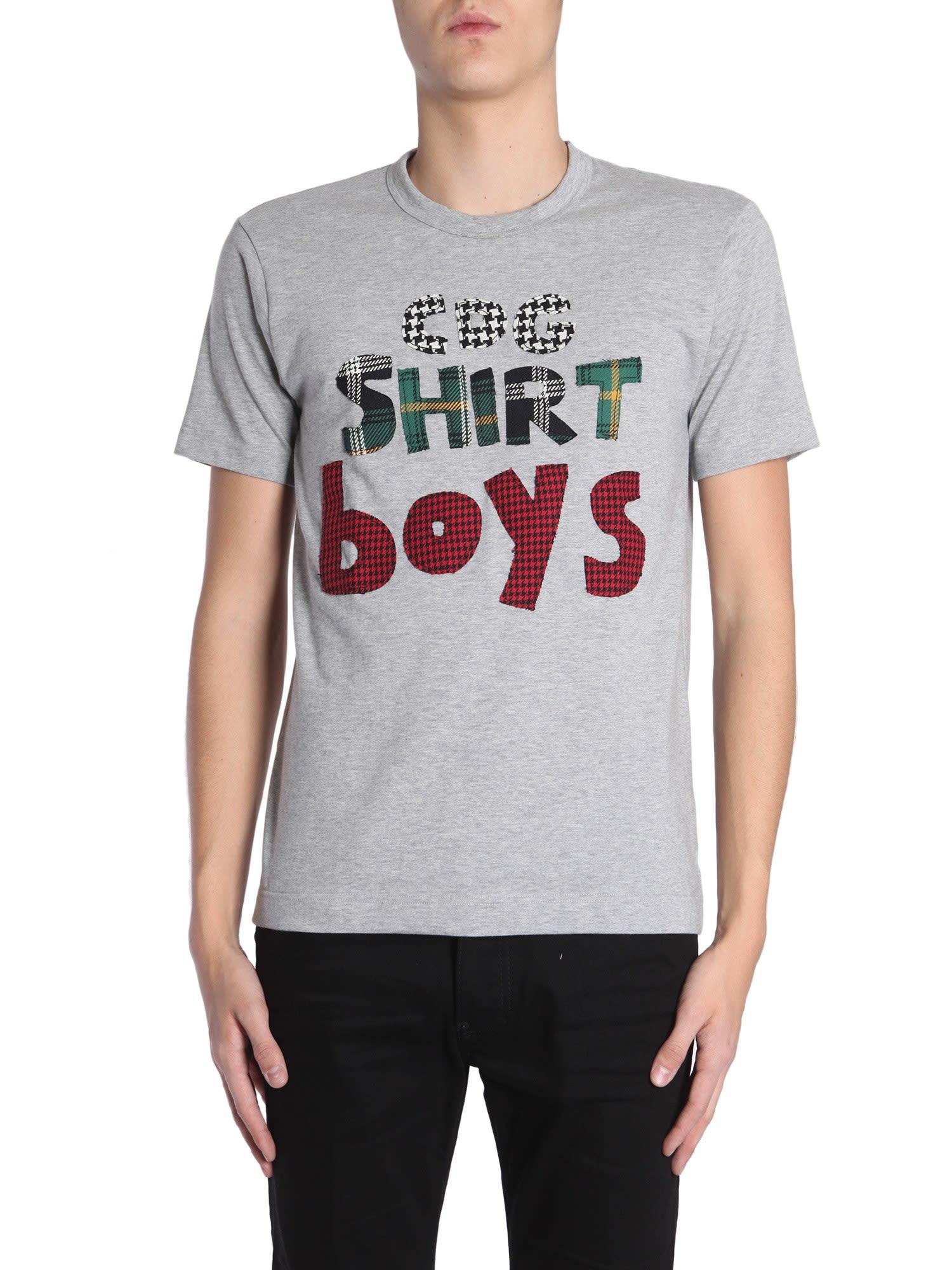 comme des garçons shirt -  Round Collar T-shirt