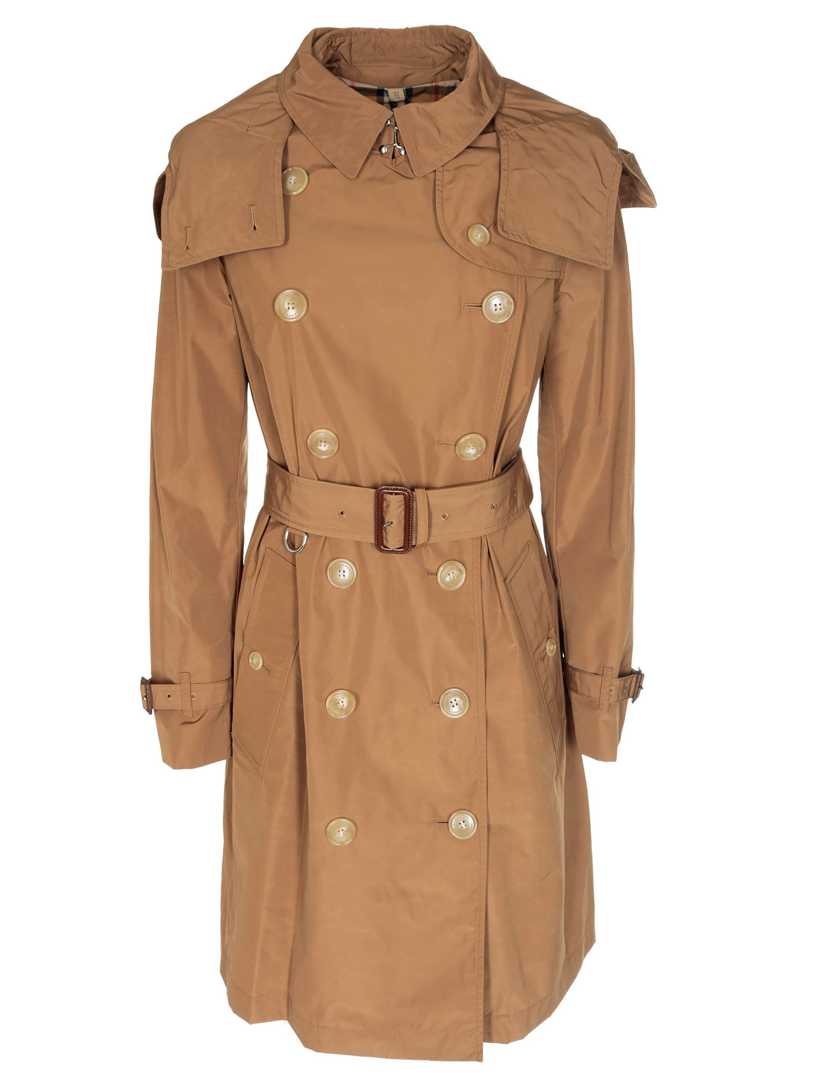burberry -  Detachable Hood Kensington Trench