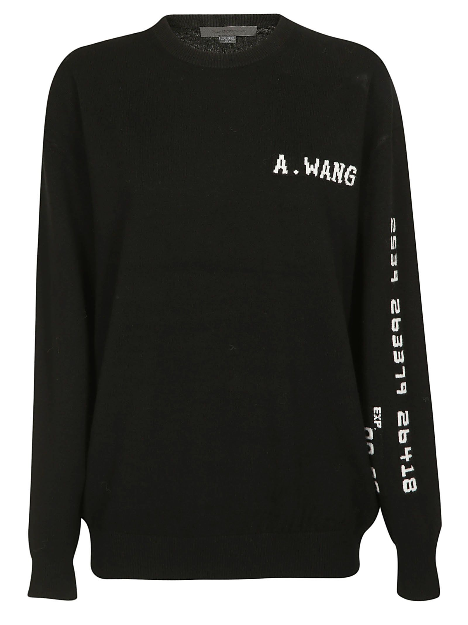 Alexander Wang Logo Sweater