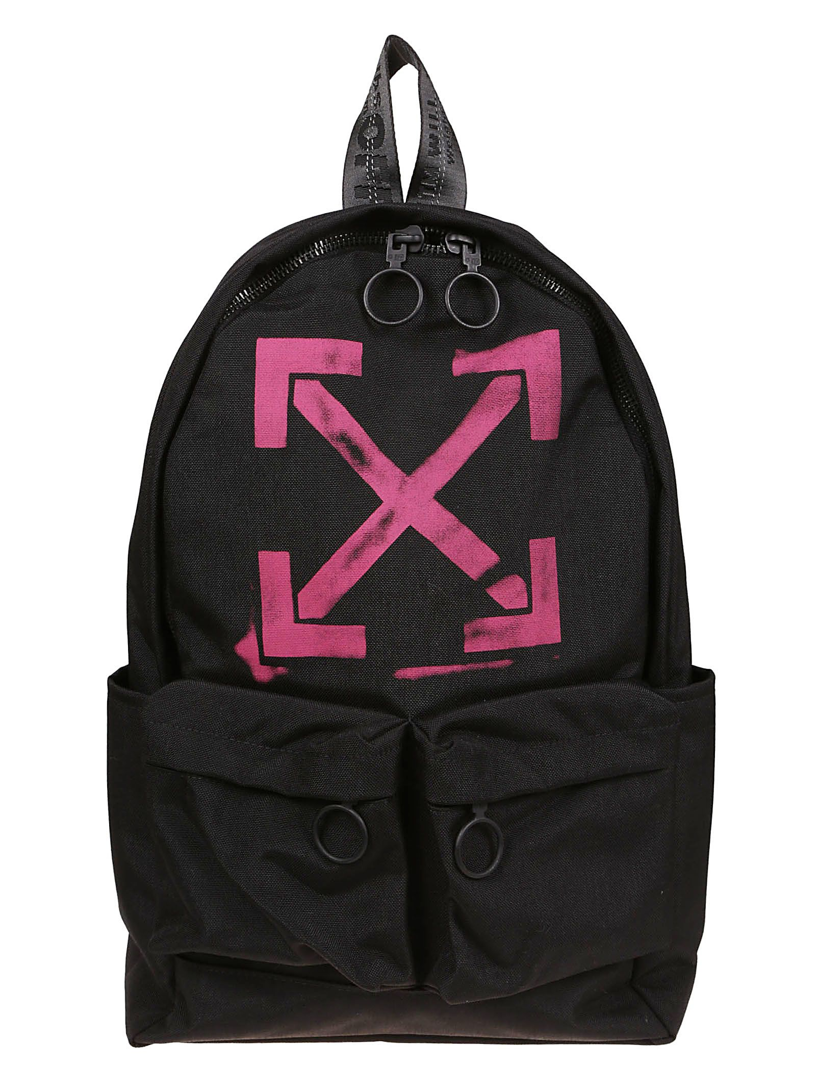 Off-white Signature Arrow Print Backpack