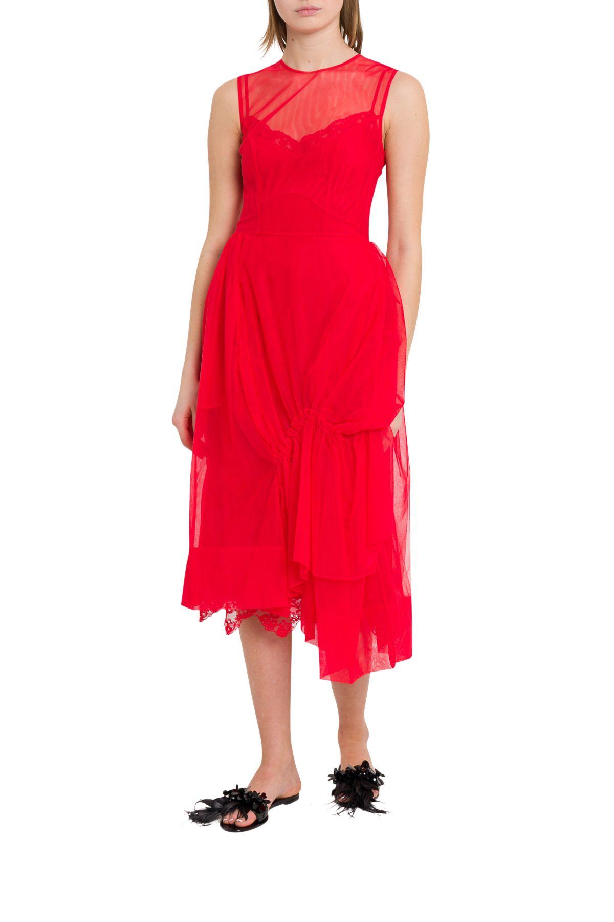 Simone Rocha Dresses GATHERED TULLE DRESS