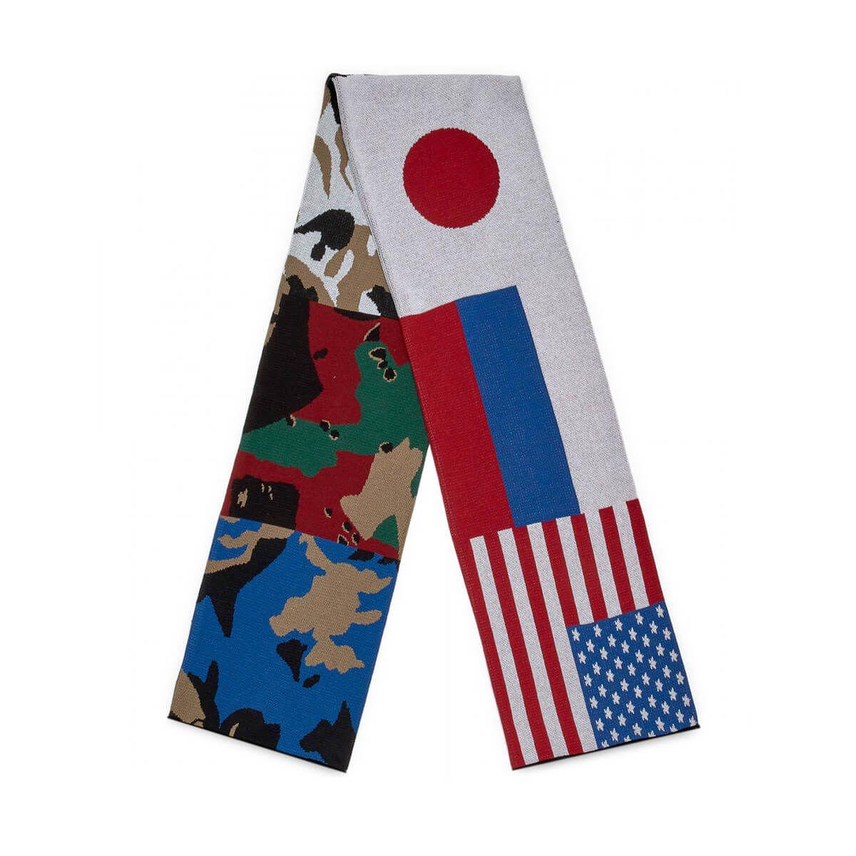 gosha rubchinskiy -  Flag Scarf