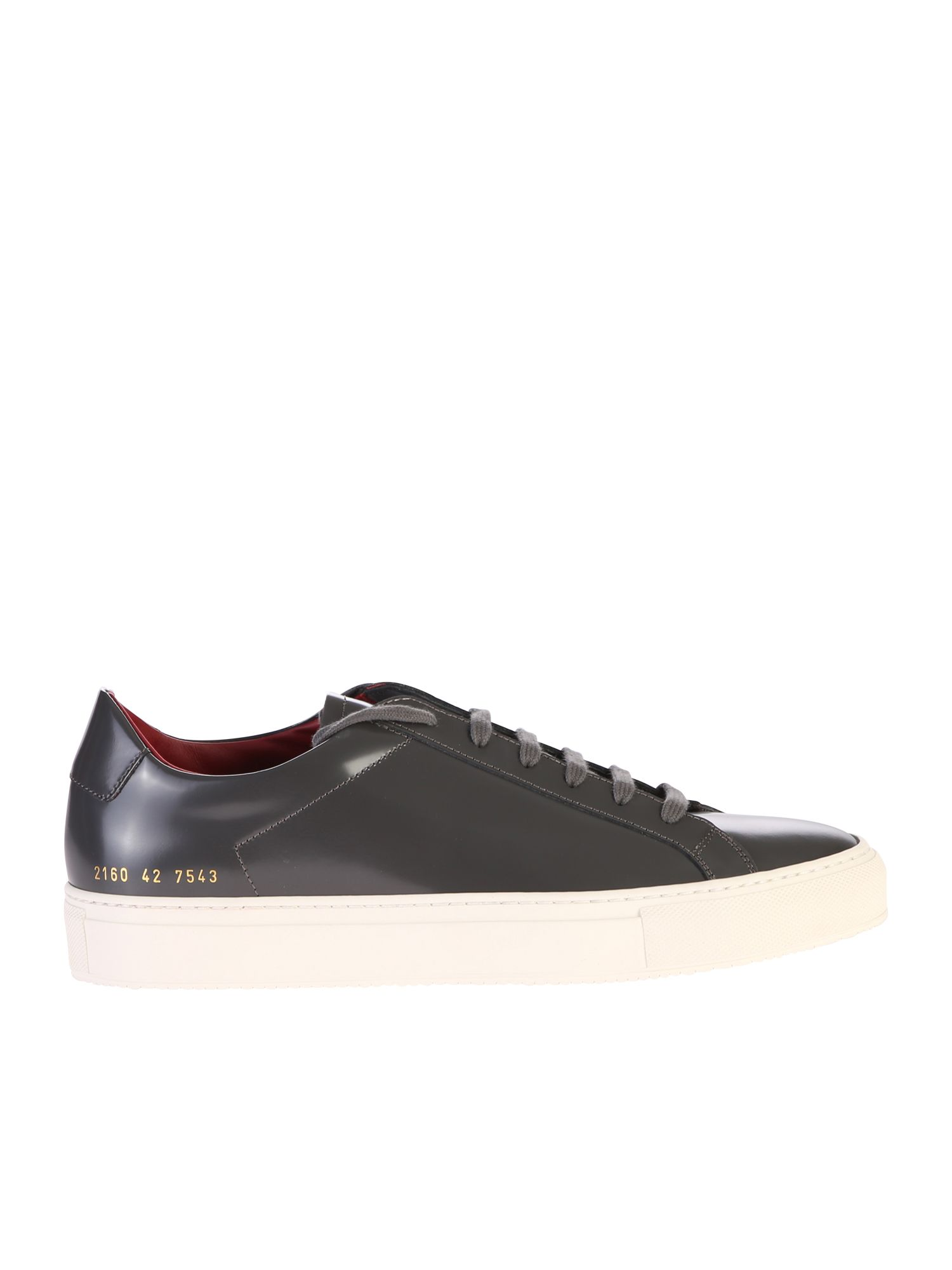 Common Projects Black Lace Up Sneakers