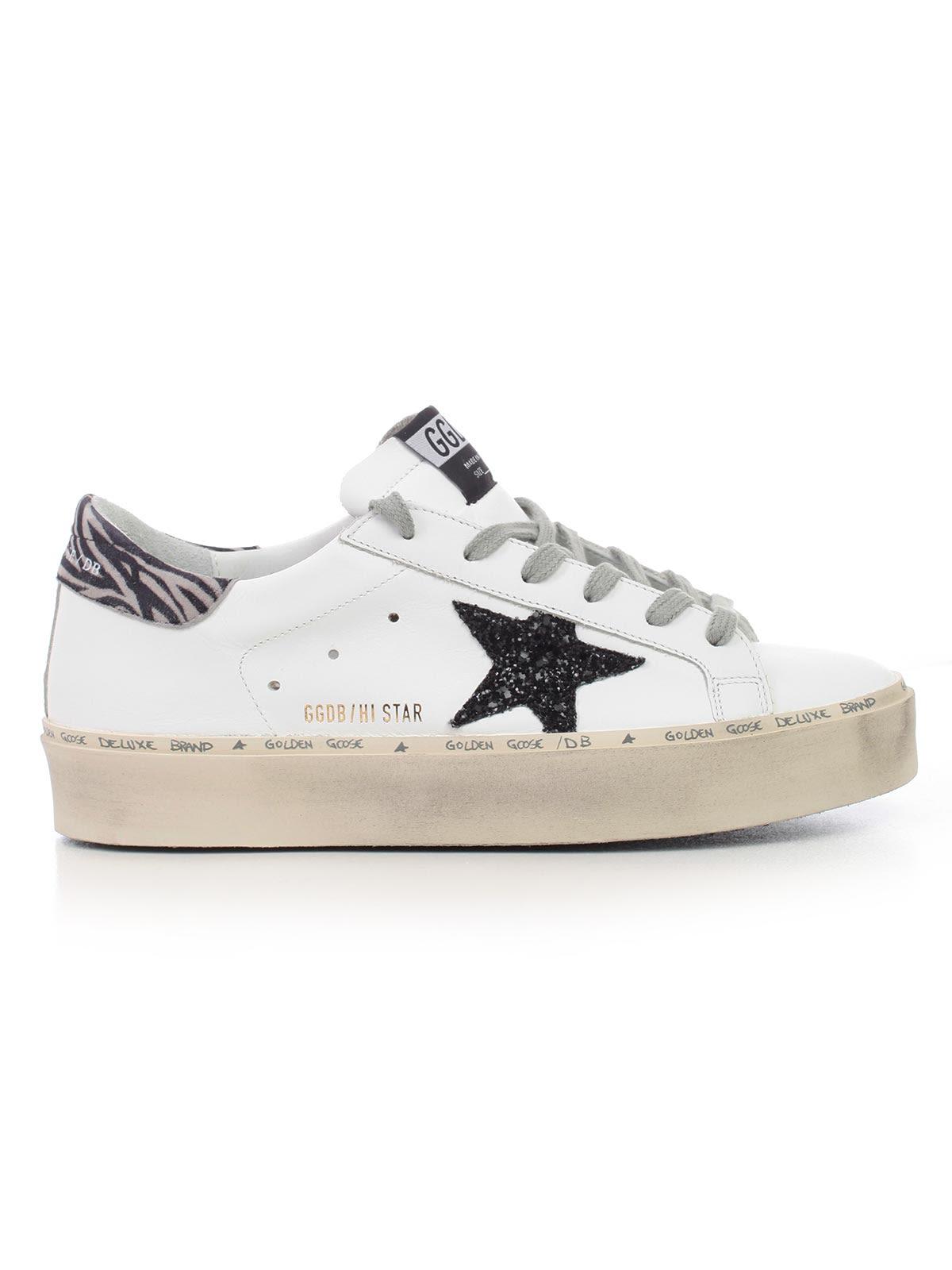 golden goose -  Deluxe Brand Hi Star Low-cut Sneakers