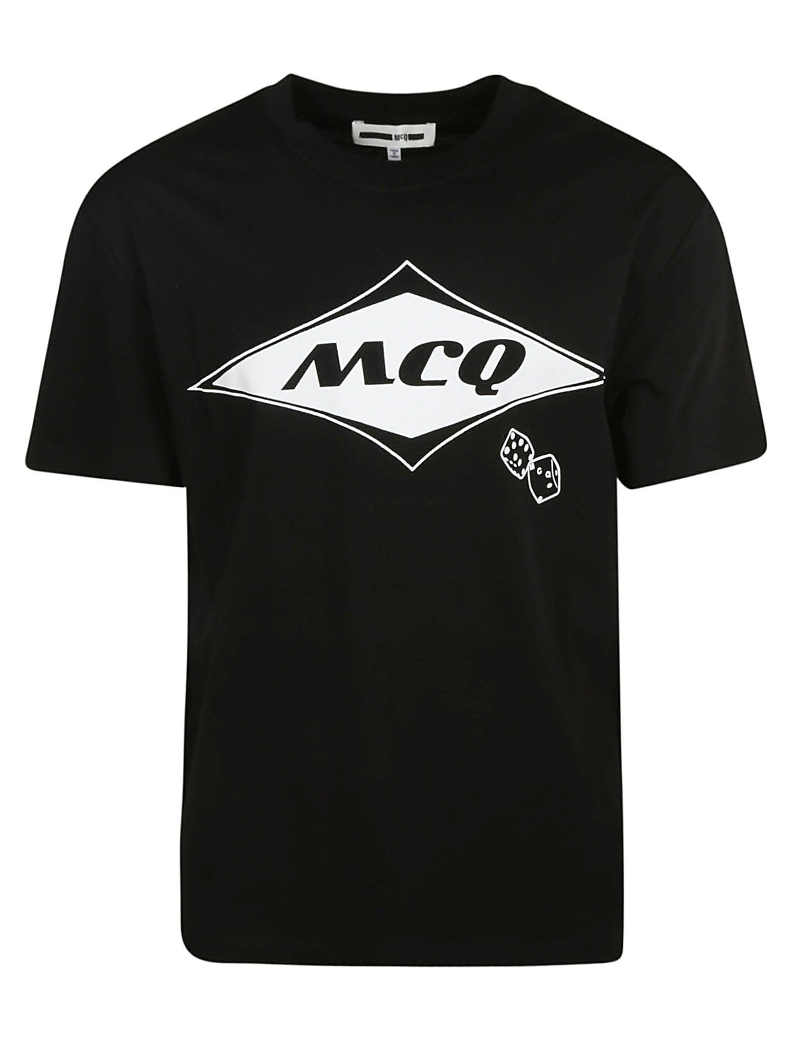 Alexander Mcqueen Mcq Logo Print T-shirt