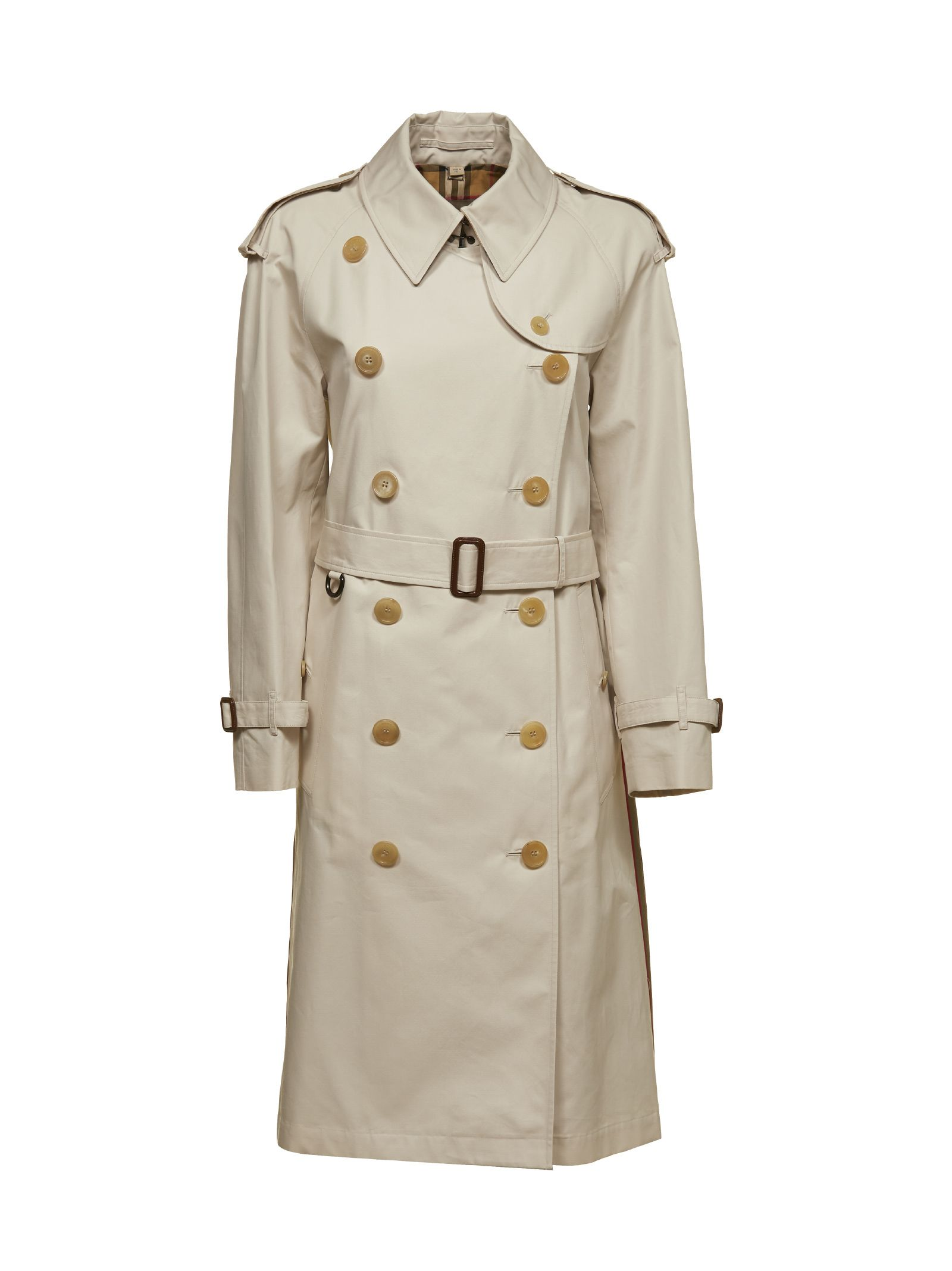 burberry -  Heritage Ribbon Gabardine Trench