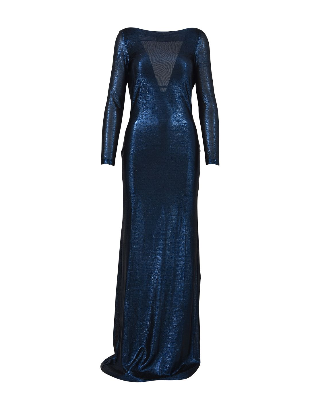 Dsquared2 Blue Viscose Gown