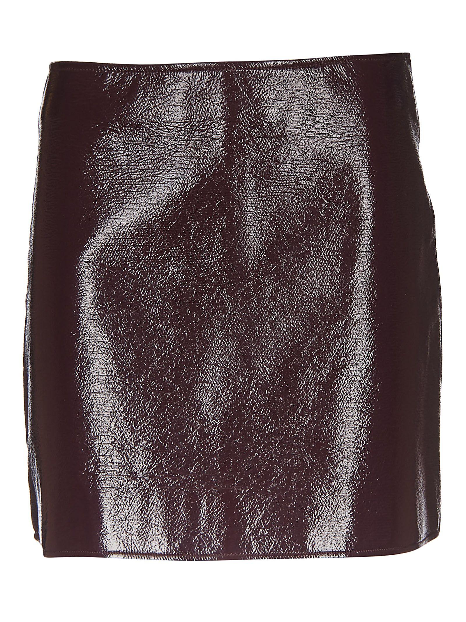 courrèges -  Patent Mini Skirt