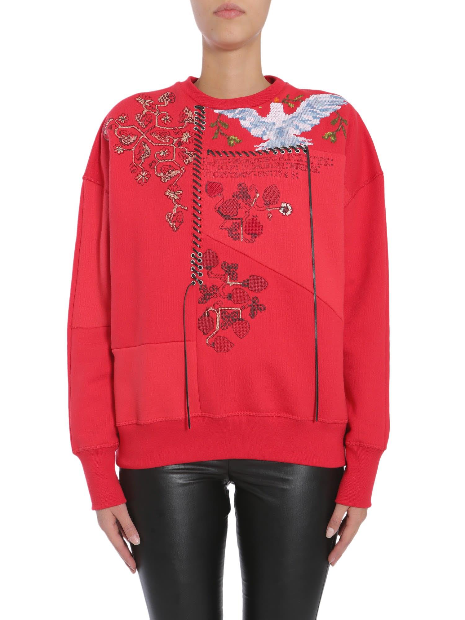 Alexander McQueen Round Collar Sweatshirt